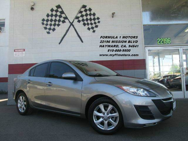2010 MAZDA MAZDA3 I SPORT 4DR SEDAN 5A grey this is a beautiful mazda 3 super clean inside and ou