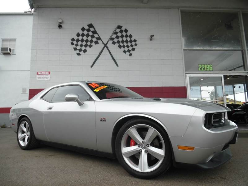 2010 DODGE CHALLENGER SRT8 2DR COUPE silver vin2b3cj7dw5ah114091 this is a super clean dodge cha