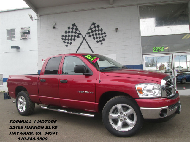 2007 DODGE RAM 1500 SLT QUAD CAB 2WD BIG HORN red this 2007 dodge ram 1500 is a very nice 4 door t