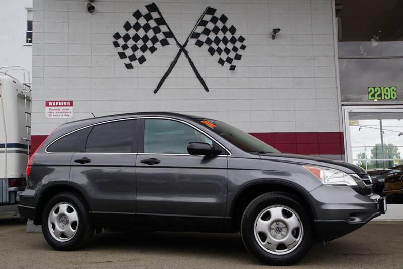 2011 HONDA CR-V LX 4DR SUV polished metal metallic 2-stage unlocking doors abs - 4-wheel active