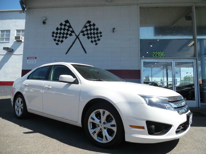 2012 FORD FUSION SE 4DR SEDAN white vin3fahp0ha2cr329773 this is a great unit this car runs s