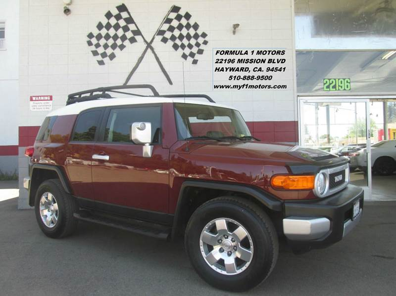 2010 TOYOTA FJ CRUISER BASE 4X2 4DR SUV brown abs - 4-wheel air filtration airbag deactivation