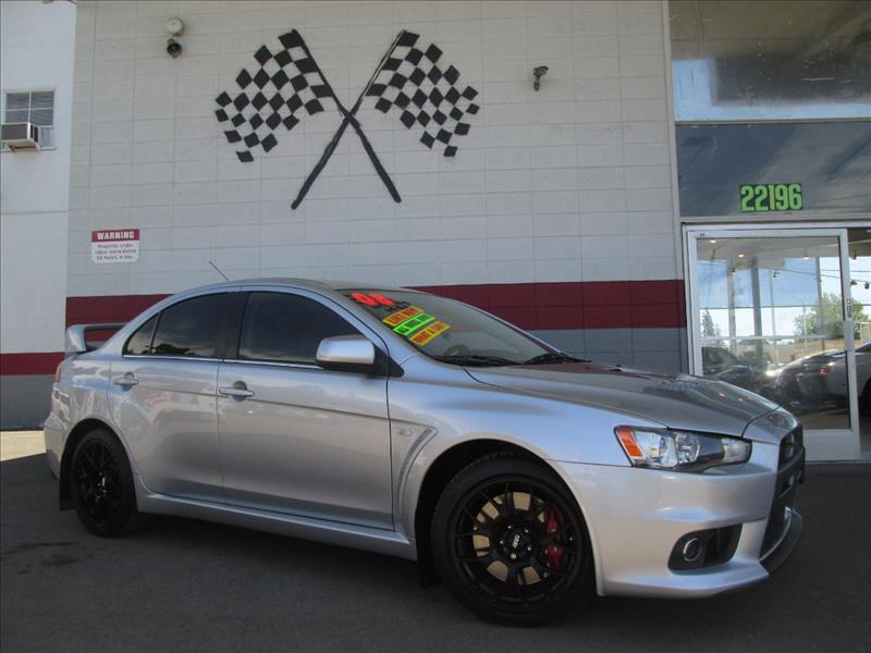 2008 MITSUBISHI LANCER EVOLUTION MR AWD 4DR SEDAN silver 2-stage unlocking 4wd type - full time