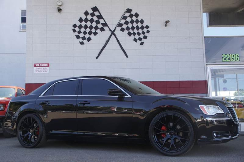 2014 CHRYSLER 300 BASE 4DR SEDAN black 2-stage unlocking doors abs - 4-wheel active head restra