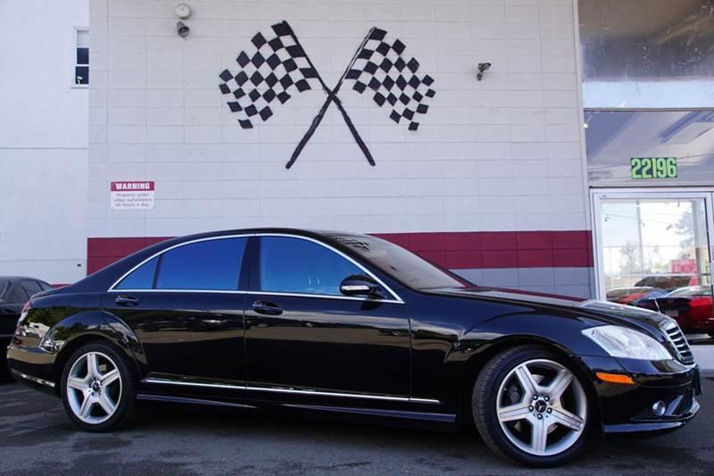 2009 MERCEDES-BENZ S-CLASS S 550 4MATIC AWD 4DR SEDAN majestic black metallic 2-stage unlocking d