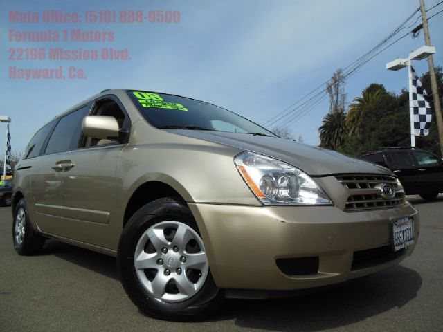 2008 KIA SEDONA LX LWB gold 38l v6 automatic 3rd row seating dual sliding doors abs brakesair