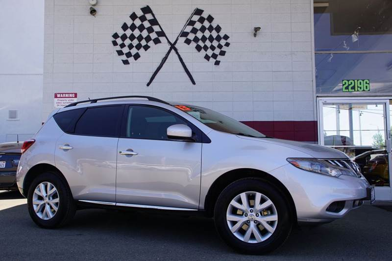 2013 NISSAN MURANO SV 4DR SUV brilliant silver 2-stage unlocking doors abs - 4-wheel active hea