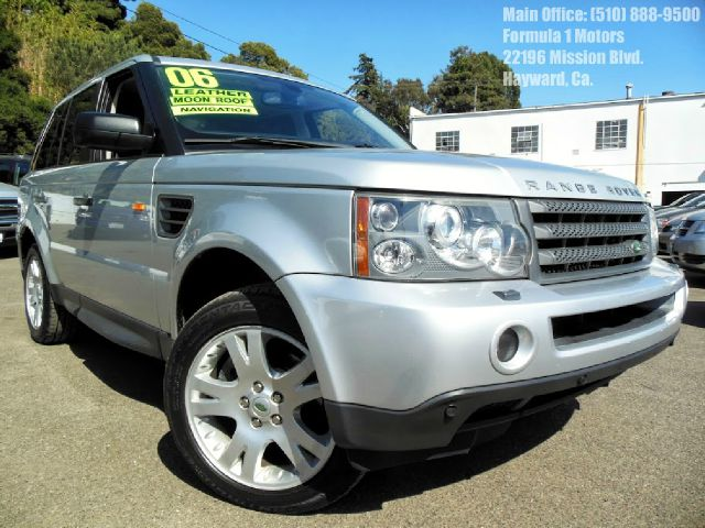2006 LAND ROVER RANGE ROVER SPORT HSE silver 44l v8 automatic leather moon roof navigation 4wd
