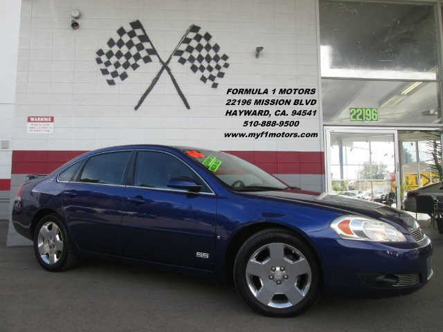 2006 CHEVROLET IMPALA SS 4DR SEDAN blue this is a super clean impala ss very clean interior fun
