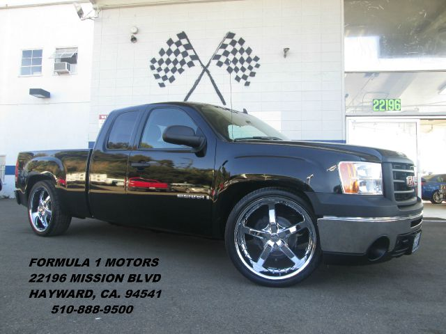 2008 GMC SIERRA 1500 WORK TRUCK EXT CAB SHORT BOX black abs brakesair conditioningamfm radioa