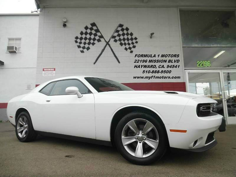2015 DODGE CHALLENGER SXT 2DR COUPE white this is a very nice dodge challenger super clean inside