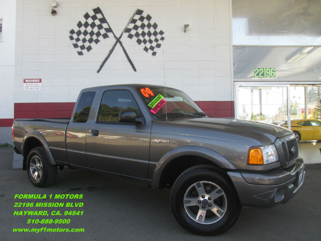 2004 FORD RANGER TREMOR 4DR SUPERCAB RWD STYLESID grey this is the perfect work truck runs great
