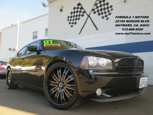 2007 DODGE CHARGER RT PERFORMANCE GROUP black rt performance group  navigation  srt-8 design s