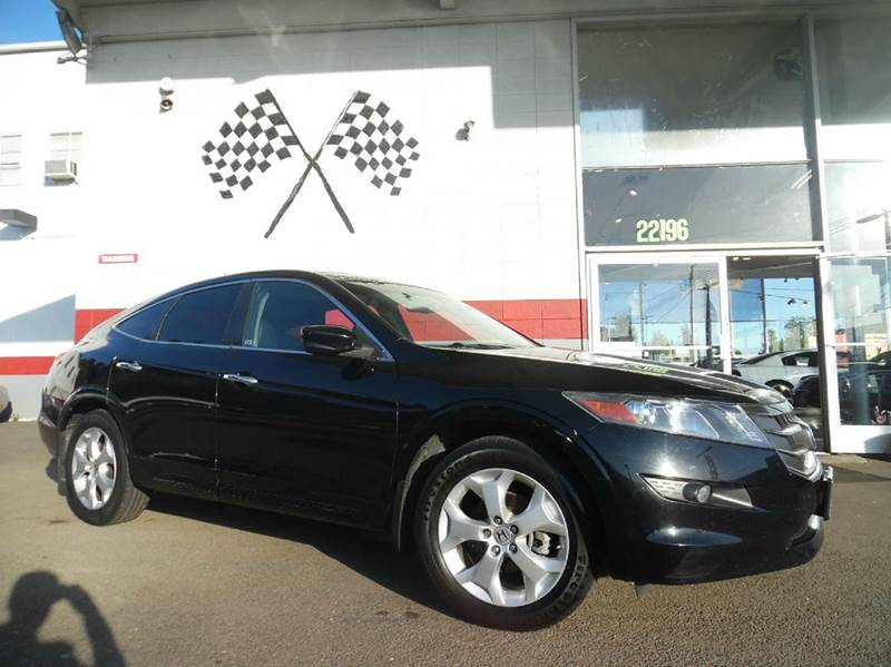 2011 HONDA ACCORD CROSSTOUR EX-L WNAVI AWD 4DR CROSSOVER W black great car with navigation and a