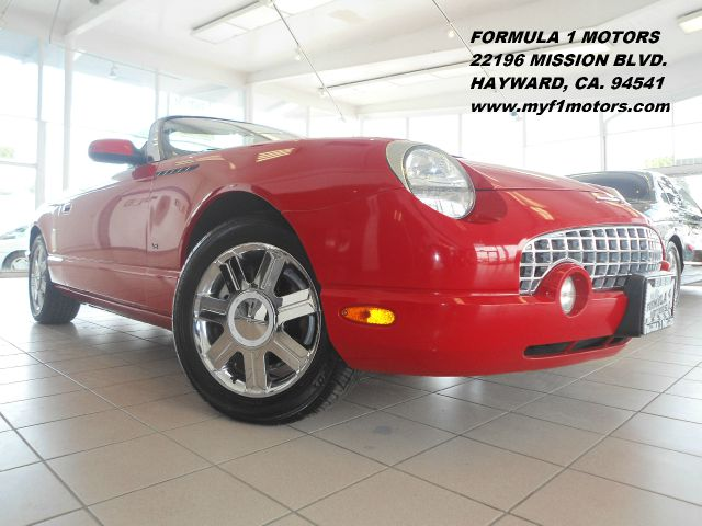 2004 FORD THUNDERBIRD PREMIUM red abs brakesair conditioningalloy wheelsamfm radioanti-brake