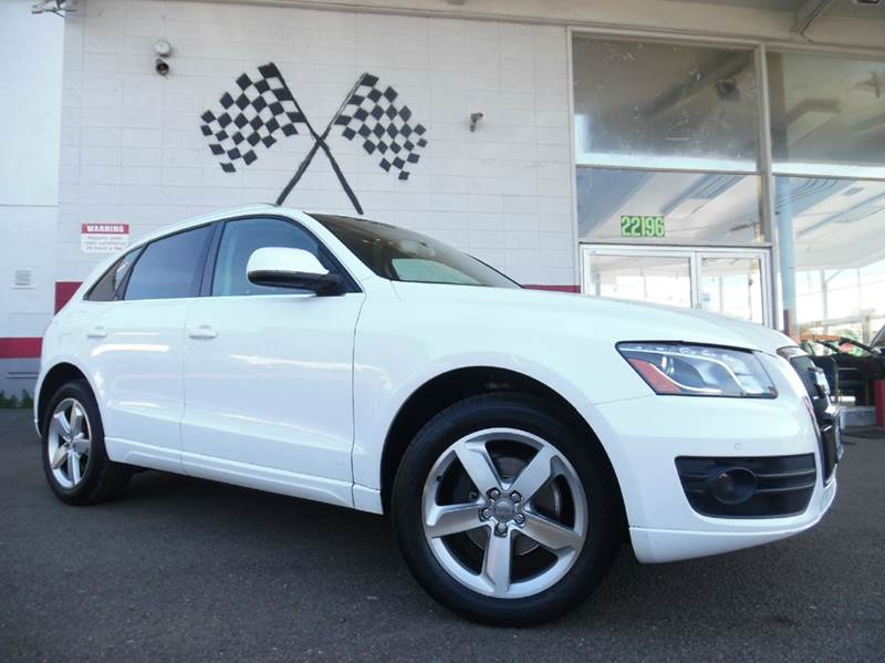 2010 AUDI Q5 32 QUATTRO PREMIUM PLUS AWD 4DR white vin wa1lkafp1aa004517 great looking suv with
