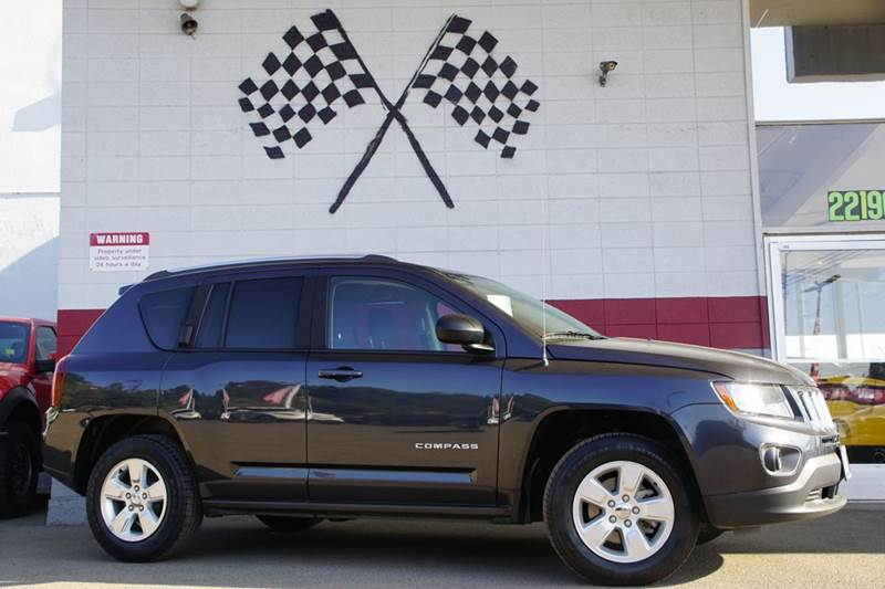 2014 JEEP COMPASS ALTITUDE EDITION 4DR SUV gray 2-stage unlocking doors abs - 4-wheel active he