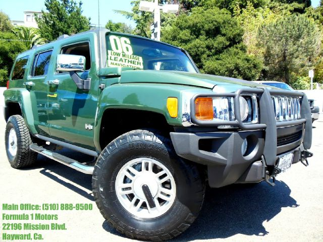 2006 HUMMER H3 SPORT UTILITY green 35l l5 dohc 20v automatic leather moon roof navigation bac