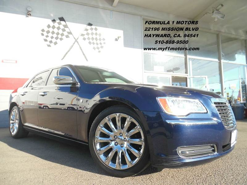 2013 CHRYSLER 300 MOTOWN 4DR SEDAN blue 2-stage unlocking - remote abs - 4-wheel active head re