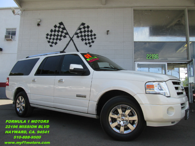 2008 FORD EXPEDITION EL LIMITED 4X2 SUV white this limited edition expedition is in perfect condit