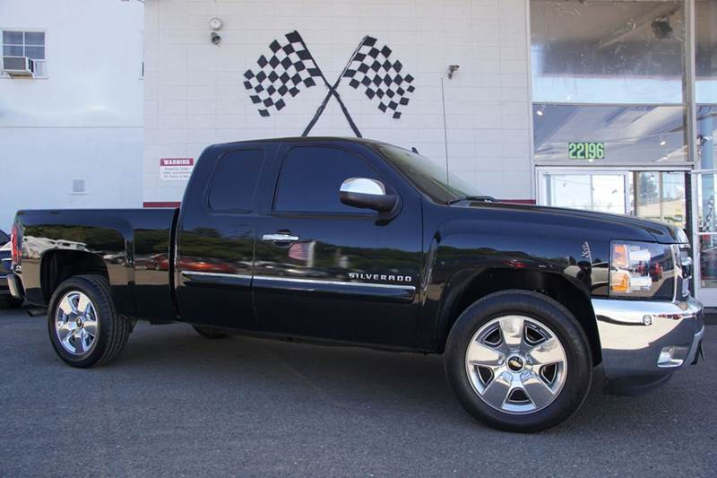 2012 CHEVROLET SILVERADO 1500 LT 4X2 4DR EXTENDED CAB 65 FT black granite metallic abs - 4-whee