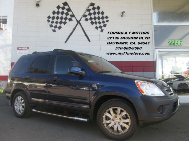 2005 HONDA CR-V EX AWD 4DR SUV blue abs - 4-wheel cassette cd changer center console - front c