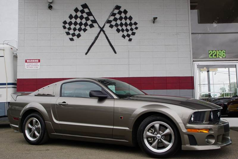 2005 FORD MUSTANG GT DELUXE 2DR COUPE mineral gray clearcoat metalli abs - 4-wheel center consol