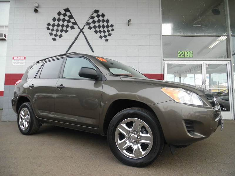 2010 TOYOTA RAV4 BASE 4DR SUV brown this is a super clean toyota rav4 very well maintained insid