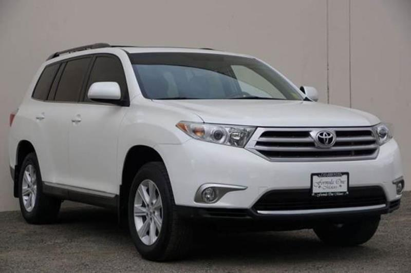 2012 TOYOTA HIGHLANDER BASE 4DR SUV blizzard pearl abs - 4-wheel active head restraints - dual f