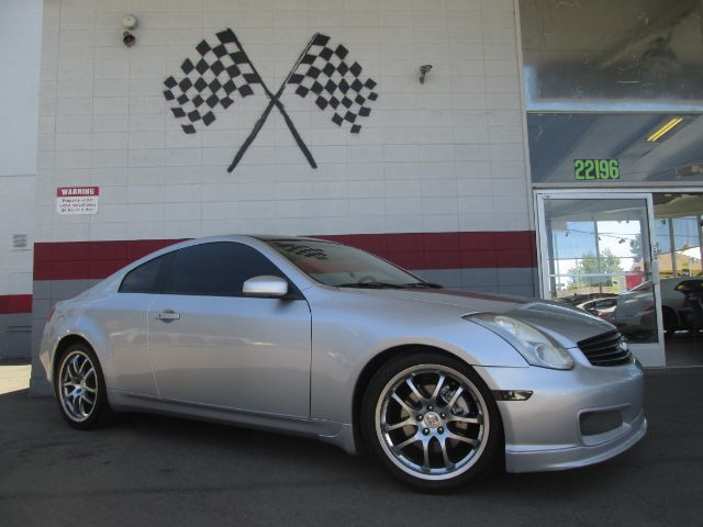 2007 INFINITI G35 2DR COUPE 35L V6 5A silver super clean infiniti g35 loaded navigation lea