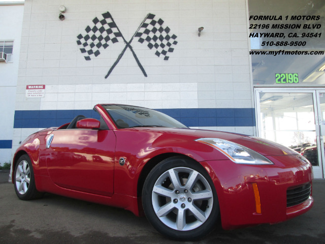 2005 NISSAN 350Z ENTHUSIAST ROADSTER red abs brakesair conditioningalloy wheelsamfm radioanti