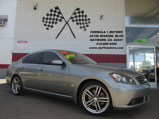 2006 INFINITI M35 SPORT 4DR SEDAN gray loaded - leather - moon roof - navigation - rear view c