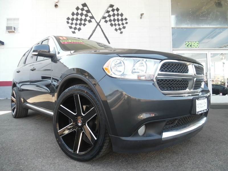 2011 DODGE DURANGO CREW AWD 4DR SUV black vin1d4re4gg0bc630933 this vehicle has 3rd row seating