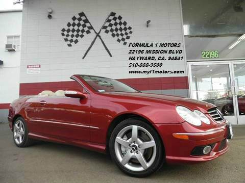 2005 MERCEDES-BENZ CLK CLK500 2DR CABRIOLET red this is a super clean mercedes clk500 in perfect