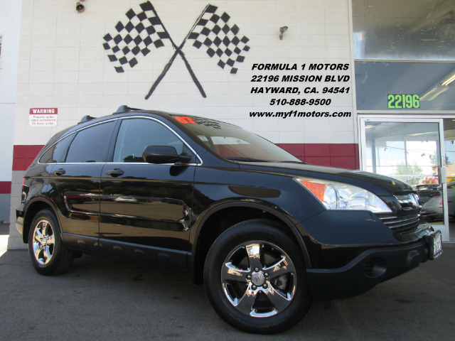 2007 HONDA CR-V EX 4DR SUV black loaded - leather - moon roof - and premium wheels - wow