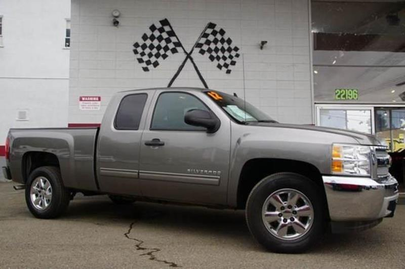 2012 CHEVROLET SILVERADO 1500 LS 4X2 4DR EXTENDED CAB 65 FT graystone metallic abs - 4-wheel a