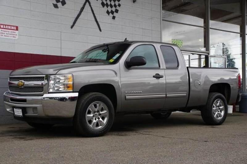 2012 CHEVROLET SILVERADO 1500 LS 4X2 4DR EXTENDED CAB 6.5 FT.