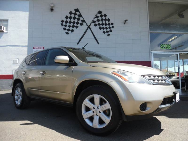 2006 NISSAN MURANO S 4DR SUV tan super clean nissan murano gorgeous leather interior drives gre