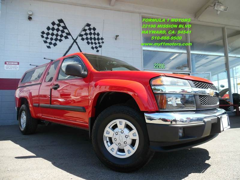 2004 CHEVROLET COLORADO Z71 LS 4DR EXTENDED CAB 4WD SB red this is a very clean chevy colorado p