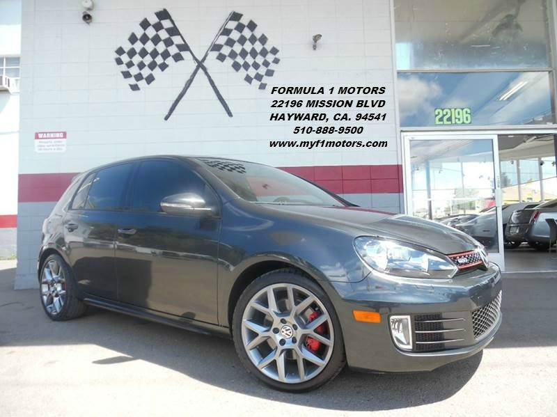 2013 VOLKSWAGEN GTI PZEV 4DR HATCHBACK 6A W CONVENI grey super clean volkswagon gti fun to drive