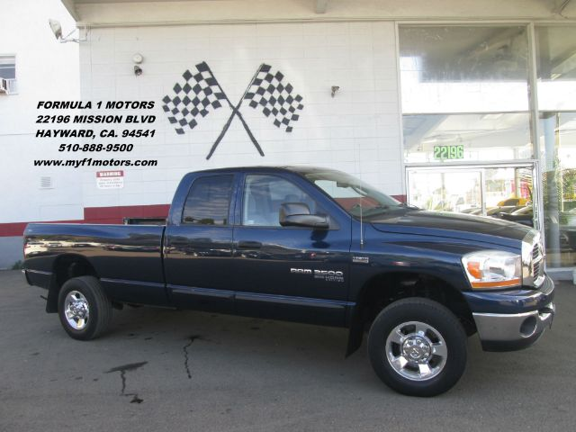 2006 DODGE RAM PICKUP 2500 SLT 4DR QUAD CAB 4WD LB blue 4wd type - part time abs - 4-wheel airba
