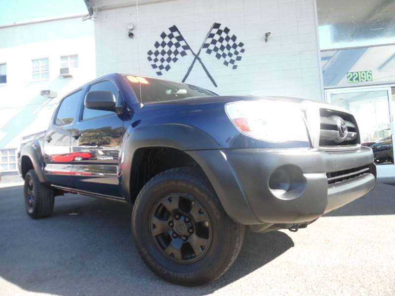 2008 TOYOTA TACOMA PRERUNNER V6 4X2 4DR DOUBLE CAB dark blue abs - 4-wheel airbag deactivation -