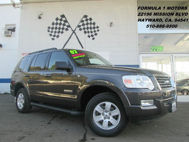 2007 FORD EXPLORER XLT 46L 4WD gray 4wdawdabs brakesair conditioningalloy wheelsamfm radio