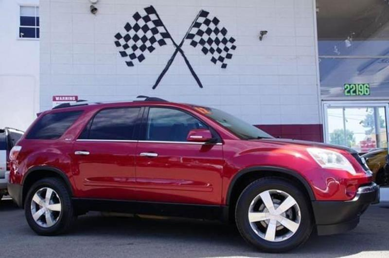 2012 GMC ACADIA SLT 1 AWD 4DR SUV crystal red tintcoat luxury is shown in our 2012 gmc acadia slt