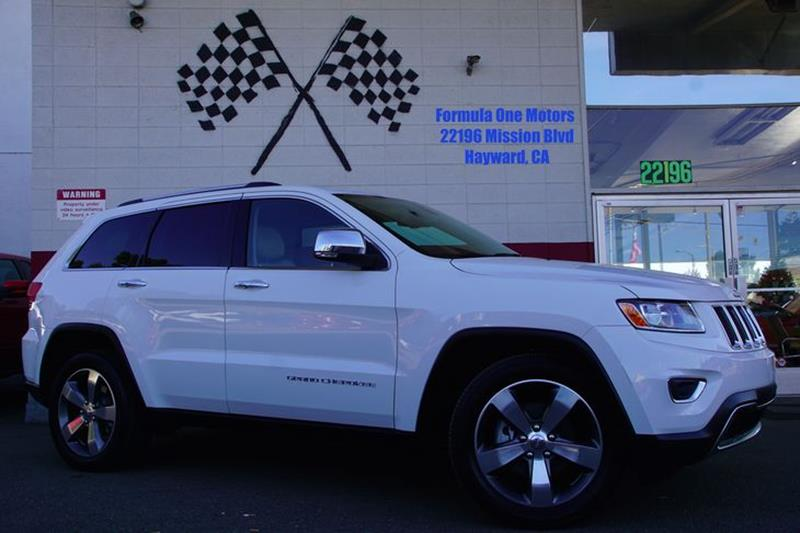 2015 JEEP GRAND CHEROKEE LIMITED 4X2 4DR SUV bright white clearcoat our amazing 2015 jeep grand c