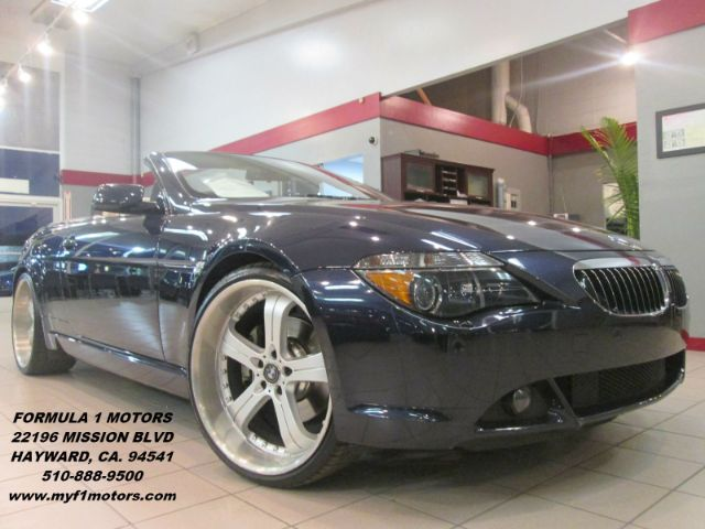 2006 BMW 6 SERIES 650I 2DR CONVERTIBLE monaco blue metallic abs - 4-wheel active suspension air