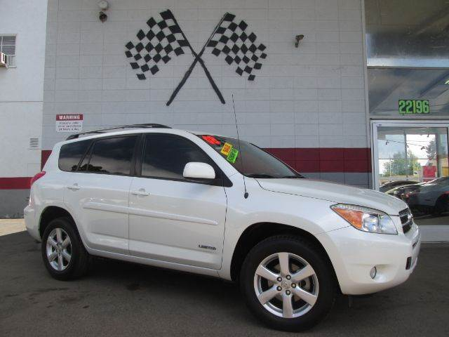 2008 TOYOTA RAV4 LIMITED SUV WTH THIRD ROW PACKA pearl white this is a very clean toyota rav4 li
