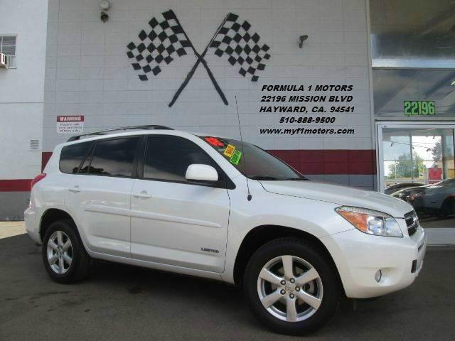 2008 TOYOTA RAV4 LIMITED SUV WTH THIRD ROW PACKA pearl white this is a very clean toyota rav4 li