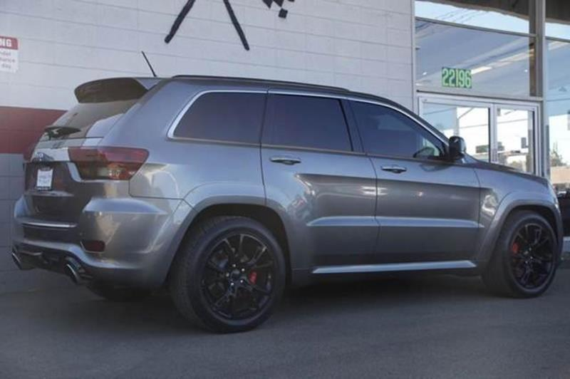2012 JEEP GRAND CHEROKEE SRT8 4X4 4DR SUV vin 1c4rjfdj4cc301058 aftermarket cold air intake after