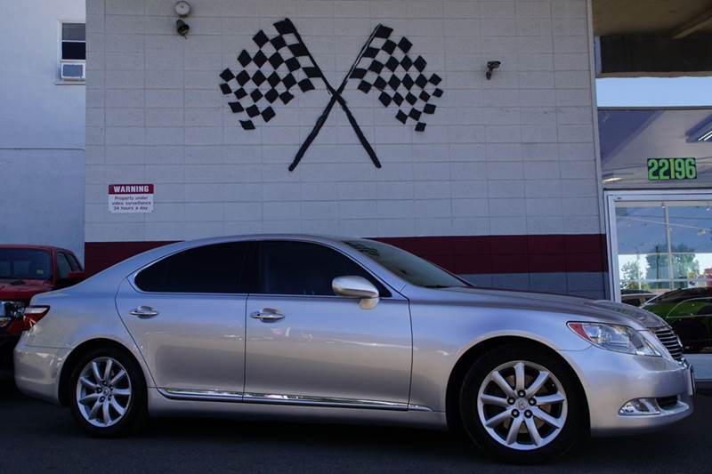 2008 LEXUS LS 460 BASE 4DR SEDAN silver 2-stage unlocking doors abs - 4-wheel air filtration a